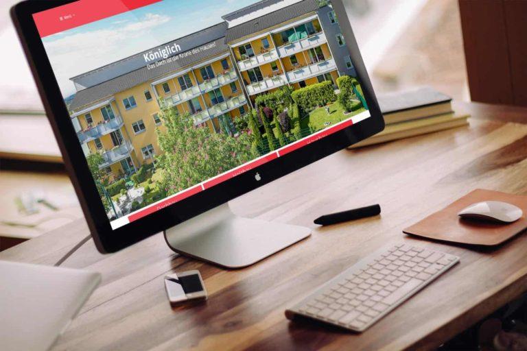 Website für Handwerker Holzbau Dachbau Hausbau