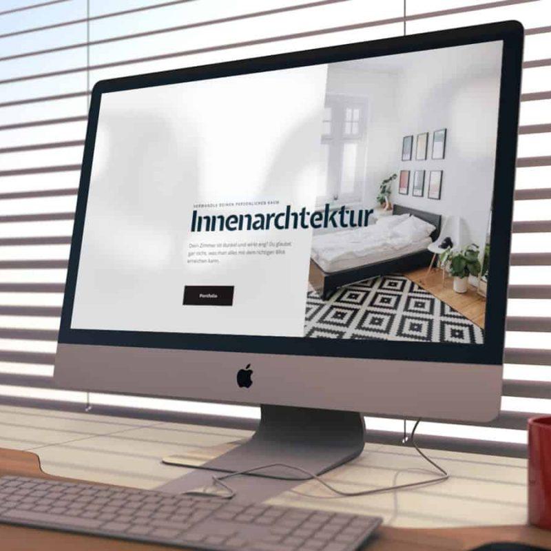 Website erstellen lassen für Innenausstatter